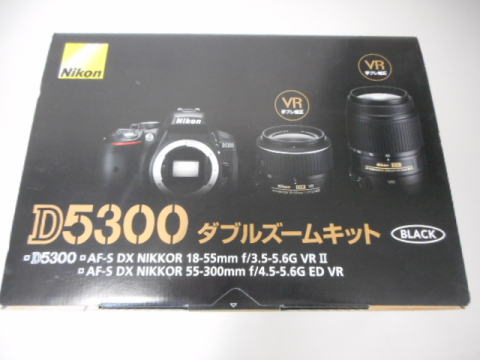 一眼レフカメラ ニコン D5300 中古