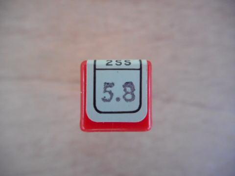 2枚刃ショートエンドミル コベルコ 2SS 5.8中古