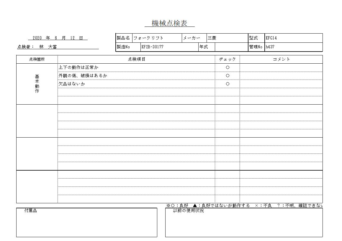 フォークリフト 三菱重工 KFG14中古
