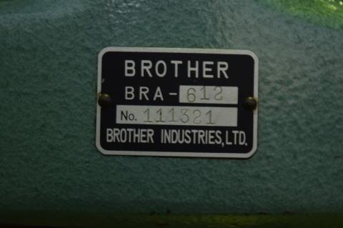 リベッティングマシン ブラザー BRM-211中古