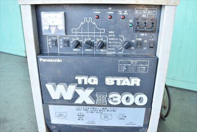 TIG溶接機 パナソニック WXⅢ300中古