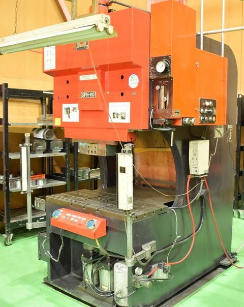 万能油圧ベンダー アマダ SPH-60 中古