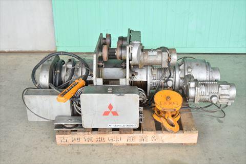 ホイスト 三菱電機 HY-2A-LDVT 中古