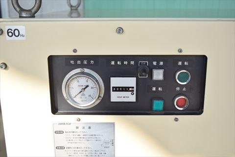 コンプレッサー 富士コンプレッサー NLP-W-75中古